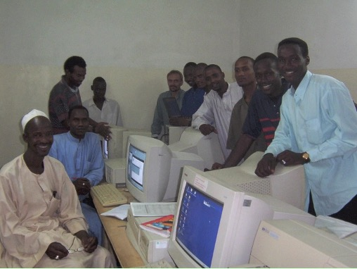 Graduates of one of the first computer classes
